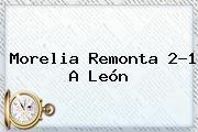 http://tecnoautos.com/wp-content/uploads/imagenes/tendencias/thumbs/morelia-remonta-21-a-leon.jpg Leon Vs Morelia. Morelia remonta 2-1 a León, Enlaces, Imágenes, Videos y Tweets - http://tecnoautos.com/actualidad/leon-vs-morelia-morelia-remonta-21-a-leon/