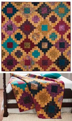 STACKED QUILT KIT