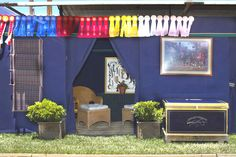 slide show of horse show stall drapes and more