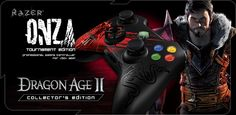Dragon Age 2 Razer Gear -- Mouse, Keyboard, Controllers, and More