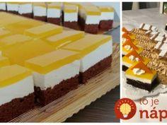 Úžasné FANTA rezy s tvarohovou náplňou: Kto neochutná, môže ľutovať – očaril celú rodinu! Tiramisu, Cheesecake, Pudding, Food, Oktoberfest, Pies, Cheesecakes, Custard Pudding, Essen