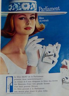 The 1960s-1963 Match ad | Flickr - Photo Sharing! - Parliament cigarette ad