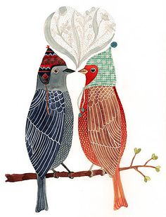 "Image Spark - Image tagged ""birds"", ""hats"", ""art"" - alihoman"