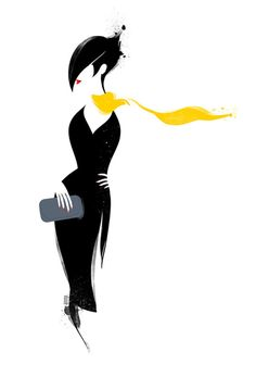 Fashion Illustration Portfolio, Illustration Art, Art Sketches, Art Drawings, Sewing Art, Fashion Painting, Silhouette Art, Figure Drawing, Pop Art