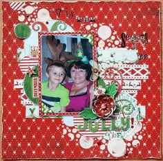 Tis the Season 2 be Jolly by Denise van Deventer - Scrapbook.com