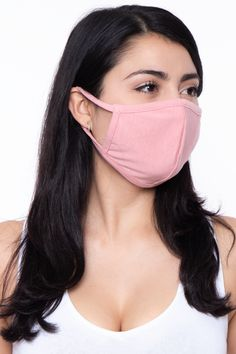 These face masks are non-medical grade. Thiswashable and reusable unisex maskismade of dual-layer soft cotton-blend jersey material that makesit comfortableand breathable. The stretch bands make them stretch so that they fit faces of all sizes. Made in USA & Mexico Measurements FaceWidth8.5 in Face Center H Diy Mask, Diy Face Mask, Face Masks, Stretch Bands, Fashion Face Mask, Easy Wear, Pocket Detail, Go Shopping, Money
