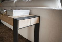 Beam console by Van Rossum | Side tables
