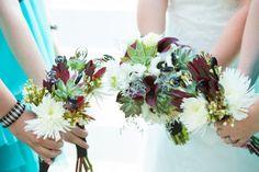 Rustic Florida Wedding-  wedding flowers