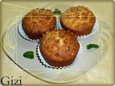 Gizi-receptjei. Várok mindenkit.: Tv-Paprika-receptek Muffin, Ale, Breakfast, Food, Red Peppers, Morning Coffee, Ale Beer, Meals, Muffins