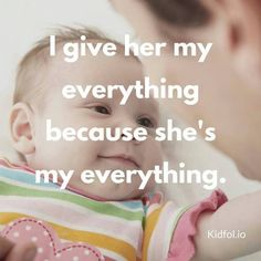 This is parenthood. #daughters ~I give her my everything because she's my everything.