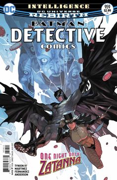 Detective Comics #959 - Intelligence Part 2: Transcendence (Issue)