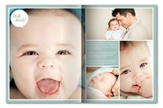 Baby photo book in minutes