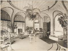 A Conservatory in a private residence, unknown.