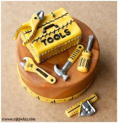 Tool Cake on Pinterest | Baking Tools, Cake Mold and Tool Box Cake