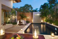 Private pool area, Bali