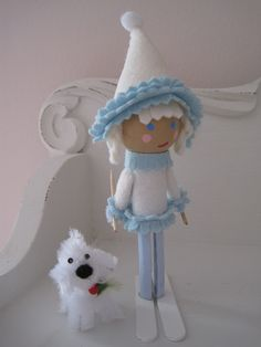 Idea for a Winter peg doll :-)