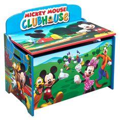 Sch 246 Ner Farbenfroher Kinderhocker Mit Minnie Mouse Motiv