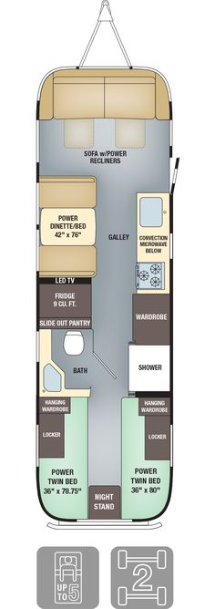 9 Airstream Floor Plans Ideas Floor Plans Airstream Airstream Remodel