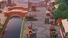 Animal Crossing Wild World, Animal Crossing Guide, Animal Crossing Villagers, Riverside Market, Creepy, Nintendo Switch Animal Crossing, Les Themes, Animal Games, Island Design