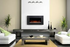 Add Style with a Wall Mount Electric Fireplace http://www.electricfireplacesdirect.com/blog/Add-Style-with-a-Wall-Mount-Electric-Fireplace