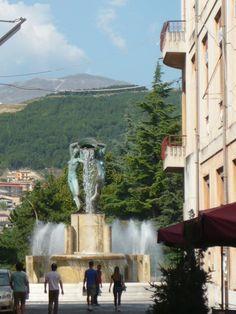 Fontana Luminosa, L'Aquila