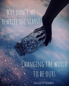 Rewrite the Stars The Greatest Showman You are in the right place about wallpaper quotes deep Here w Song Lyric Quotes, Music Quotes, Lyrics Of Songs, Music Lyrics, Lyric Art, Favorite Quotes, Best Quotes, If Only Quotes, Change Quotes