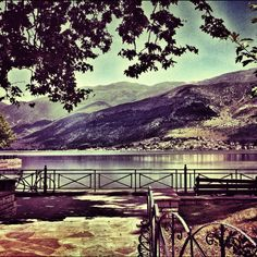 Ioannina Lake Lovely Travels, Destinations, Greece Travel, Where To Go, Cool Photos, Beautiful Places, Places To Visit, Landscape, Santorini