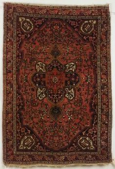 Sarouk Rug, West Persia, late 19th/early 20th century, 5 ft. by 3 ft. 6 in.  | Skinner Auctioneers Sale 2192