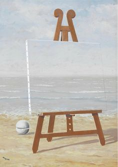 Rene Magritte (1898-1967) La Belle Captive 1946 (49,5 x 36 cm)