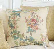 Gloria Floral Outdoor Pillow