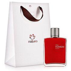 O presente Natura Homem Sagaz trás o novo deo parfum da linha, para você que sabe o que quer. Com fragrância intensa e amadeirada, combina perfeitamente com ocasiões especiais.