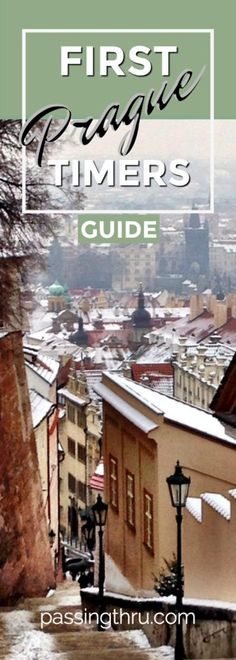 Prague First Timers Guide: insider info from experienced travelers helps you discover and plan what to do and what not to miss on a first visit to Prague! Europe Destinations, Europe Travel Tips, European Travel, Travel Guides, Travel Info, Travel Hacks, Budget Travel, Budapest, Prague Travel Guide
