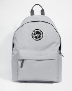 e6f2b6dc21 Hype Speckled Backpack in Grey at asos.com