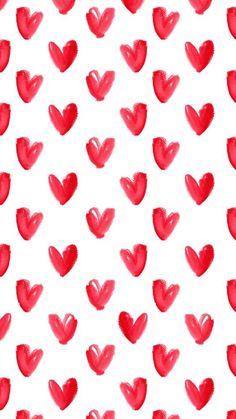 Fondo de corazones para tu iPhone en este San Valentín