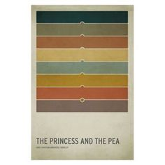 Trademark Global The Princess and the Pea Unframed Wall Canvas