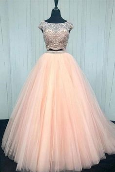Two Pieces Prom Dresses, Ball Gown Prom Dresses, Pink Prom Dresses, Prom Dresses For Cheap Prom Dresses 2019 Princess Prom Dresses, Cheap Bridesmaid Dresses, Pageant Dresses, Quinceanera Dresses, Homecoming Dresses, Dress Prom, Dress Long, Quinceanera Party, Pink Formal Dresses