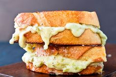 Grilled Hatch Pimento Cheese Sandwich by foodiebride