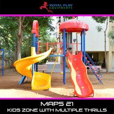 Multi Activity Play Station #royalplayequipment #slides #playground #childrensattraction