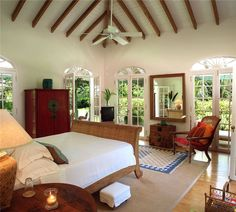 Fustic House, Barbados... love the Caribbean style of décor!