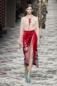 Défilé Gucci Printemps-Eté 2016