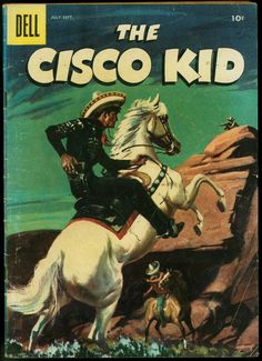 The Cisco Kid Dell Western comic- Painted cover VG You are in the right place about Comic Book girl Here we offer you the most beautiful pictures about the Comic Book you are looking for. Old Comic Books, Free Comic Books, Comic Book Covers, Old Comics, Vintage Comics, Retro Vintage, Western Comics, Western Art, Comic Book Girl