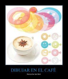 DIBUJAR EN EL CAFÉ