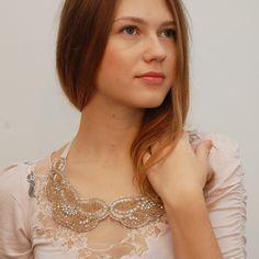 fler - Maria Accessories - luxusní práce s korálkama - výšivky na čelenky, límečky (hledat i v prodaných)
