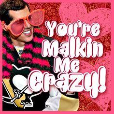 Happy Valentine's Day from the #Pens! #HockeyValentines