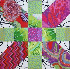 Christine Barnes' X block Modern Quilt Patterns, Square Patterns, Quilt Block Patterns, Quilt Blocks, Modern Quilting, Snowman Quilt, Plus Quilt, Cross Quilt, Rainbow Quilt