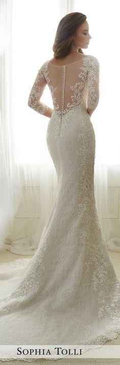 Wedding Dress by Sophia Tolli Spring 2017 Bridal Collection   Style No. » Y11702 Gabrielle