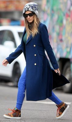 style Classic 2019 - Ideas style icons inspiration sarah jessica parker for 2019 Pretty Outfits, Stylish Outfits, Cute Outfits, Fashion Outfits, Fashion Trends, Fashion Styles, Girl Outfits, Emo Outfits, Diane Kruger