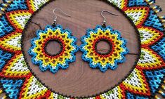 Crochet Earrings, Chokers, Beaded Necklaces, Beads, Handmade, Jewelry, Color Sheets, Colors, Projects