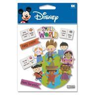 Disney EK SUCCESS Scrapbooking Title Dimensional or Foil Stickers YOU PICK