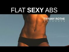 Get flat, sexy abs with Tiffany Rothe Workouts 5 minute routine​​​ 10 Min Workout, Six Pack Abs Workout, Ab Workout Men, Workout Videos, Waist Workout, Lower Ab Workout For Women, Lower Ab Workouts, V Line Abs, Youtube Workout